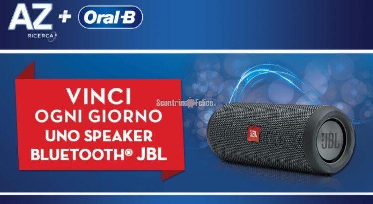 Concorso AZ e Oral-B vinci 184 Speaker Bluetooth JBL