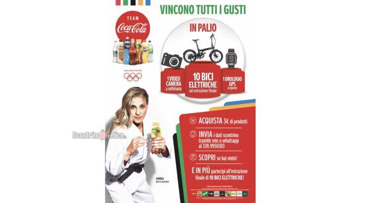 Concorso Coca Cola e Olimpiadi vincono tutti i gusti
