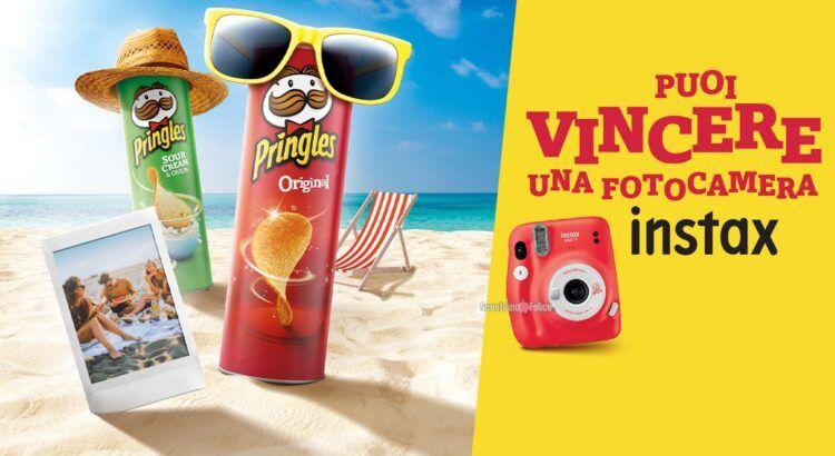 Concorso Summer Pringles 2021 in palio fotocamere istantanea Instax Mini 11