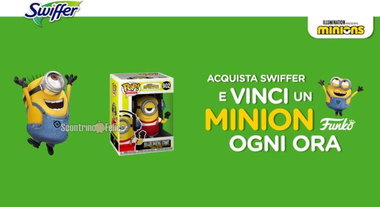 Concorso Swiffer: vinci 3.288 Funko Pop Minions