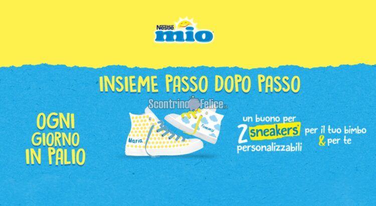 Concorso Yogurt Mio Insieme passo dopo passo in palio sneakers personalizzabili 21shoes