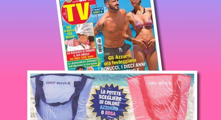 Affari in Edicola: borsa frigo Giò Style con Dipiù TV