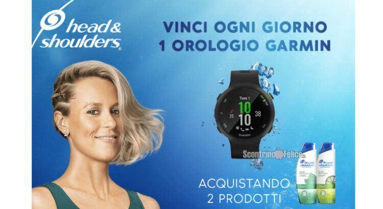 Concorso Head&Shoulders: vinci 91 smartwatch Forerunner Garmin