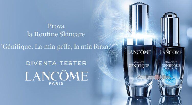 Diventa tester della skin routine Génifique di Lancome