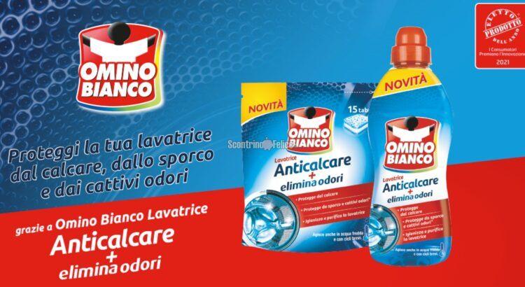 Diventa tester Omino Bianco Anticalcare + elimina odori