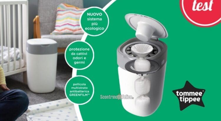 Diventa tester Sangenic Twist & Click di Tommee Tippee