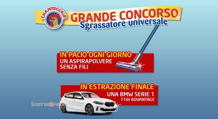 Grande Concorso Sgrassatore universale Chanteclair: vinci Dyson Cyclone V10 e BMW serie 1