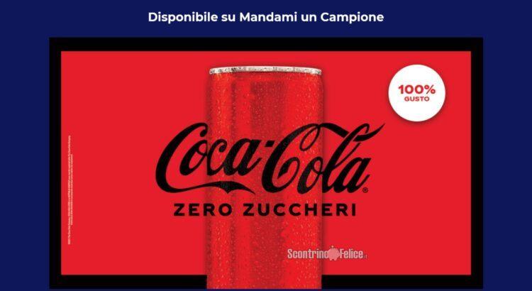 Coca-Cola-Zero Mandami un Campione