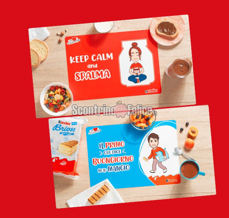 www.scontrinofelice.it nutella we love colazione 2021 ricevi tovagliette personalizzate come premio certo Nutella We Love Colazione 2021: ricevi 2 tovagliette personalizzate come premio certo