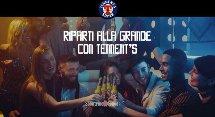 Spendi e Ripendi Riparti con Tennent's ricevi un rimborso di 10 euro