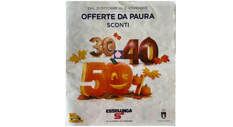 Volantino Esselunga dal 21-10-2021 al 3-11-2021