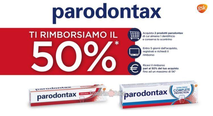 Rimborso parodontax 2021